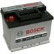 Аккумулятор BOSCH 56Ah 480A п/полярность